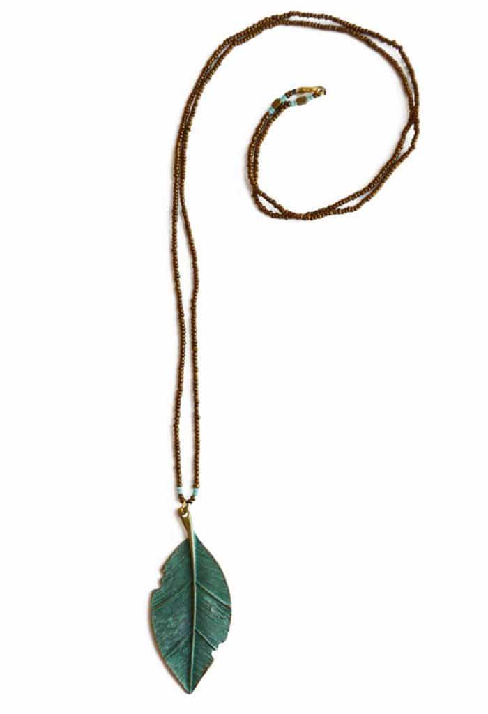 Fairtrade ketting Green Leaf van Sieraden4Life