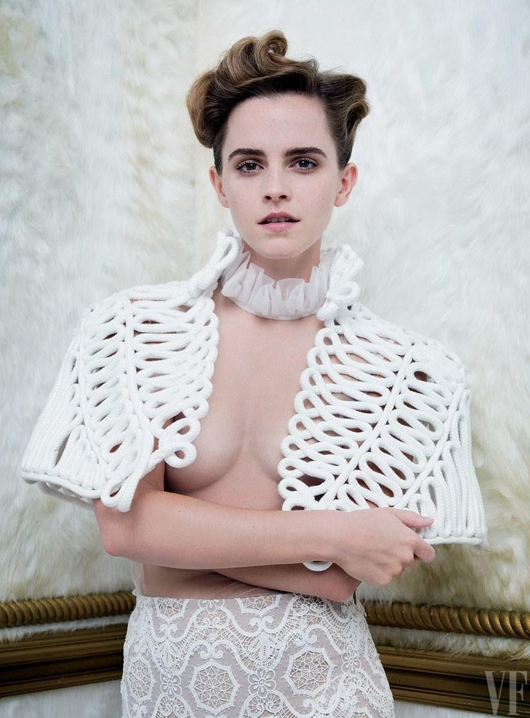 Emma Watson in Vanity Fair