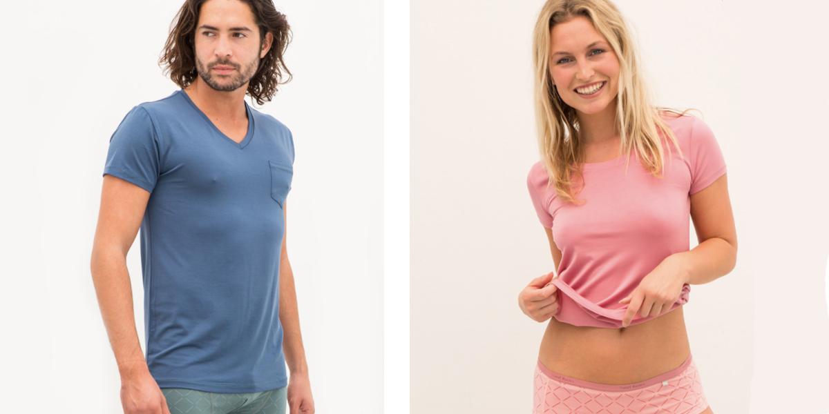 Duurzame T-shirts - Tencel - Saint Basics