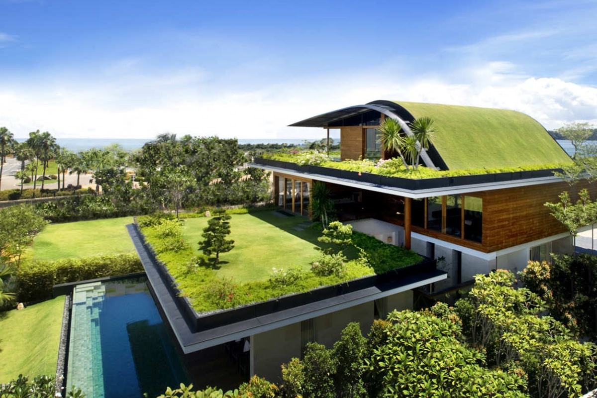 Meera Sky Garden House door Guz Architects in Singapore