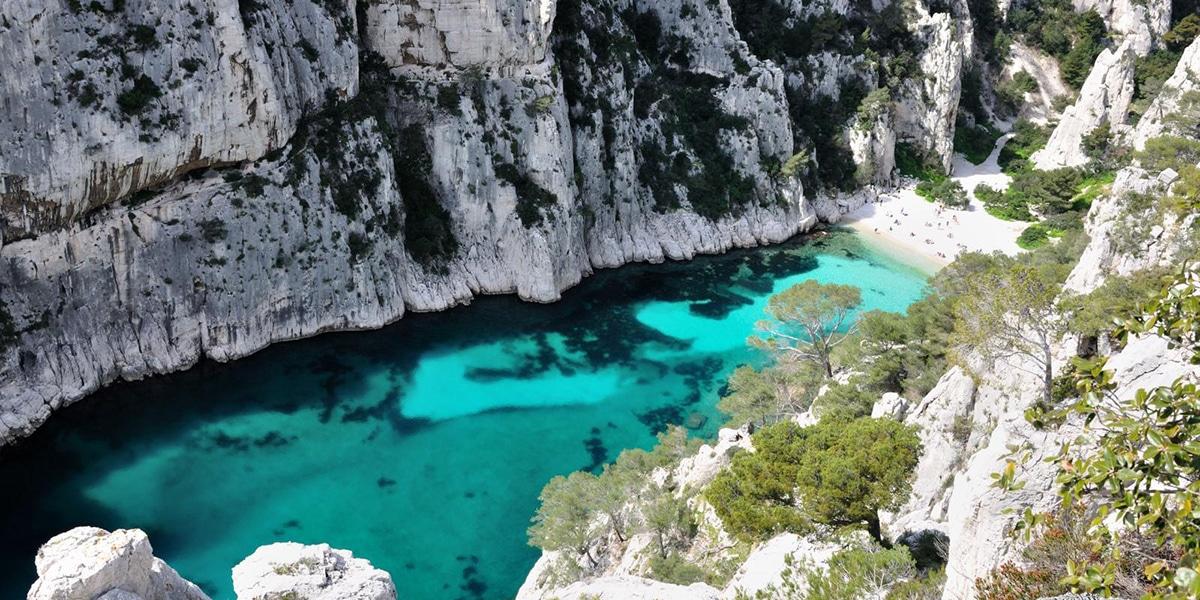 De mooiste stranden ter wereld: Calanque d'en Vau, Cassis
