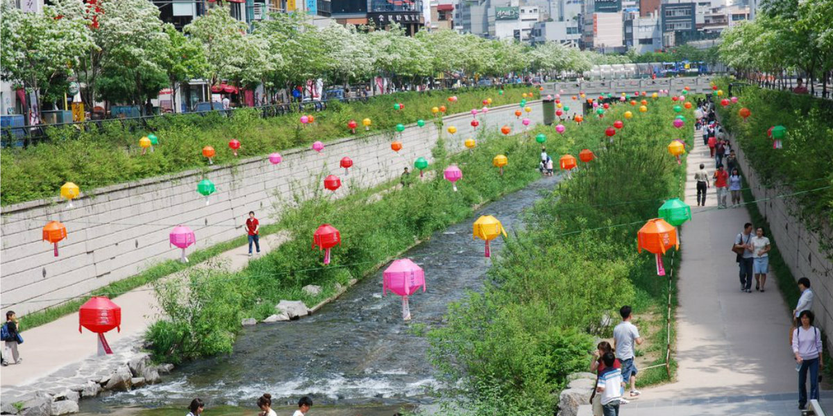 Cheonggyecheon River Urban Design