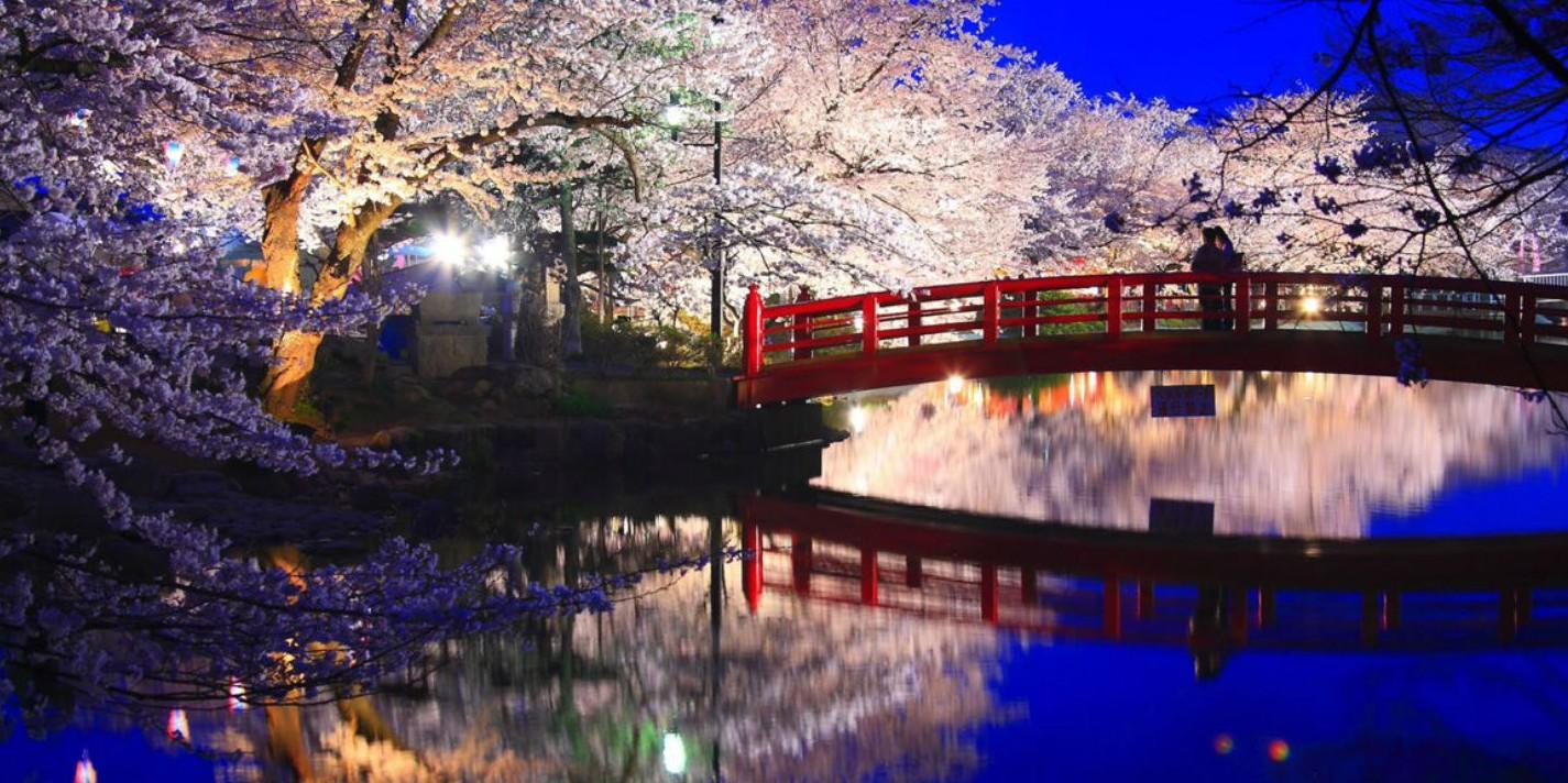 Romantische plekken in de wereld: kersenbloesemtijd in Kyoto