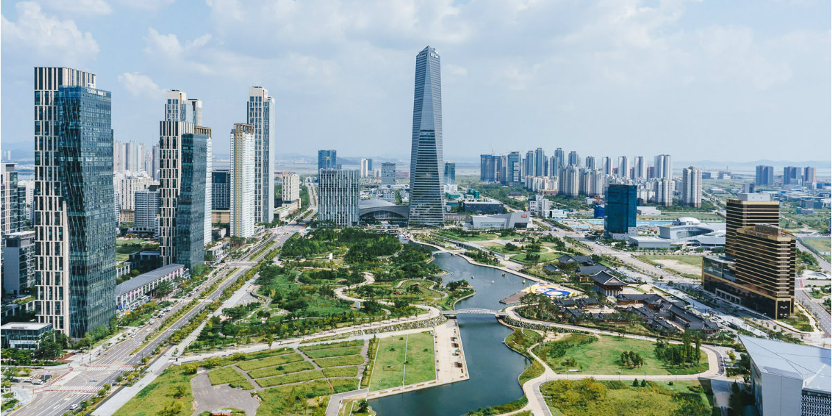 Songdo de smart city