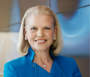 Ginny Rometty is de eerste vrouwelijke CEO van IBM