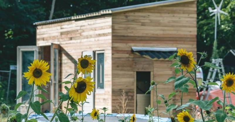 De leukste tiny houses: afvalhuis