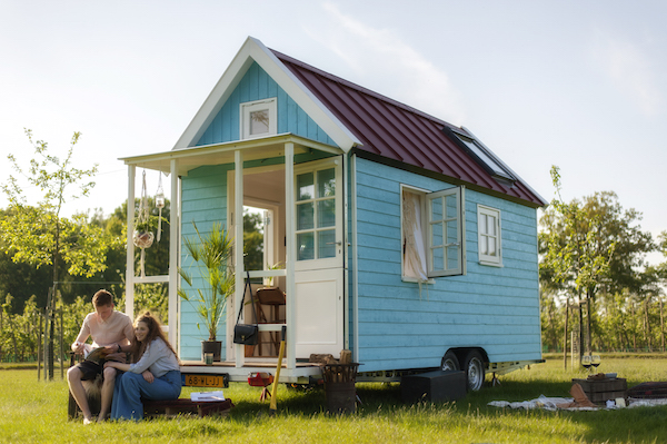 De leukste tiny houses: Waterland-huisje