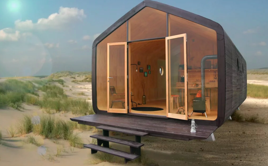 5x bijzonder wonen in een tiny house in nederland. Black Bedroom Furniture Sets. Home Design Ideas