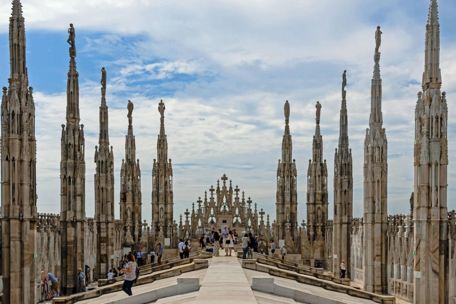 8 Europese steden met het lekkerste weer: Milaan