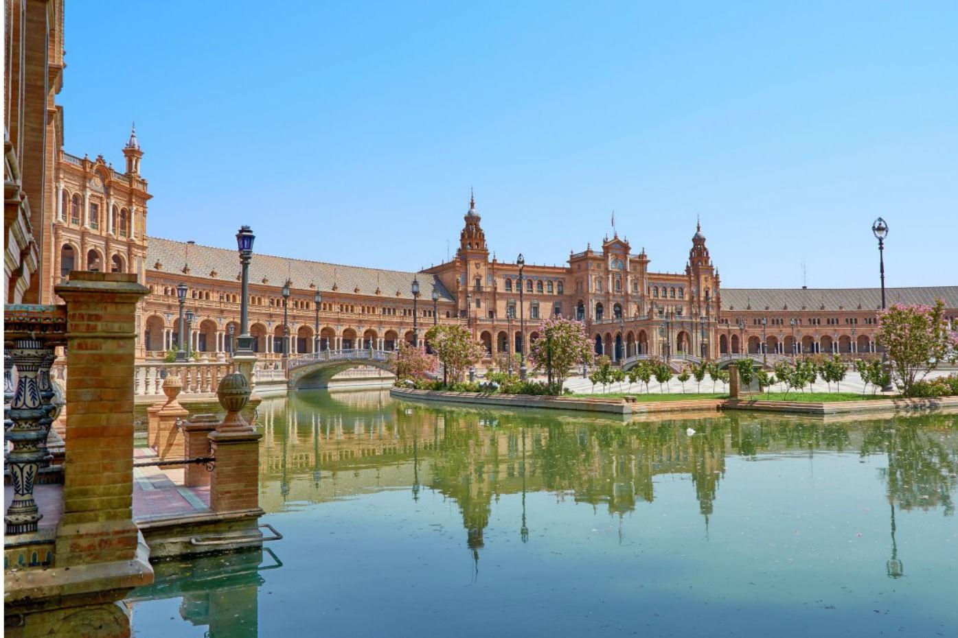 8 Europese steden met het lekkerste weer: Sevilla