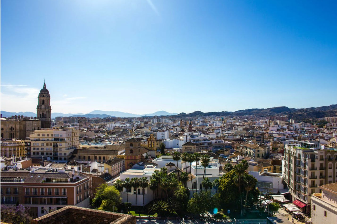 8 Europese steden met het lekkerste weer: Malaga