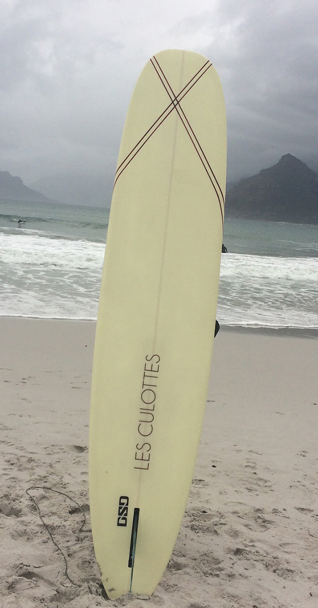 Les Culottes surfplank