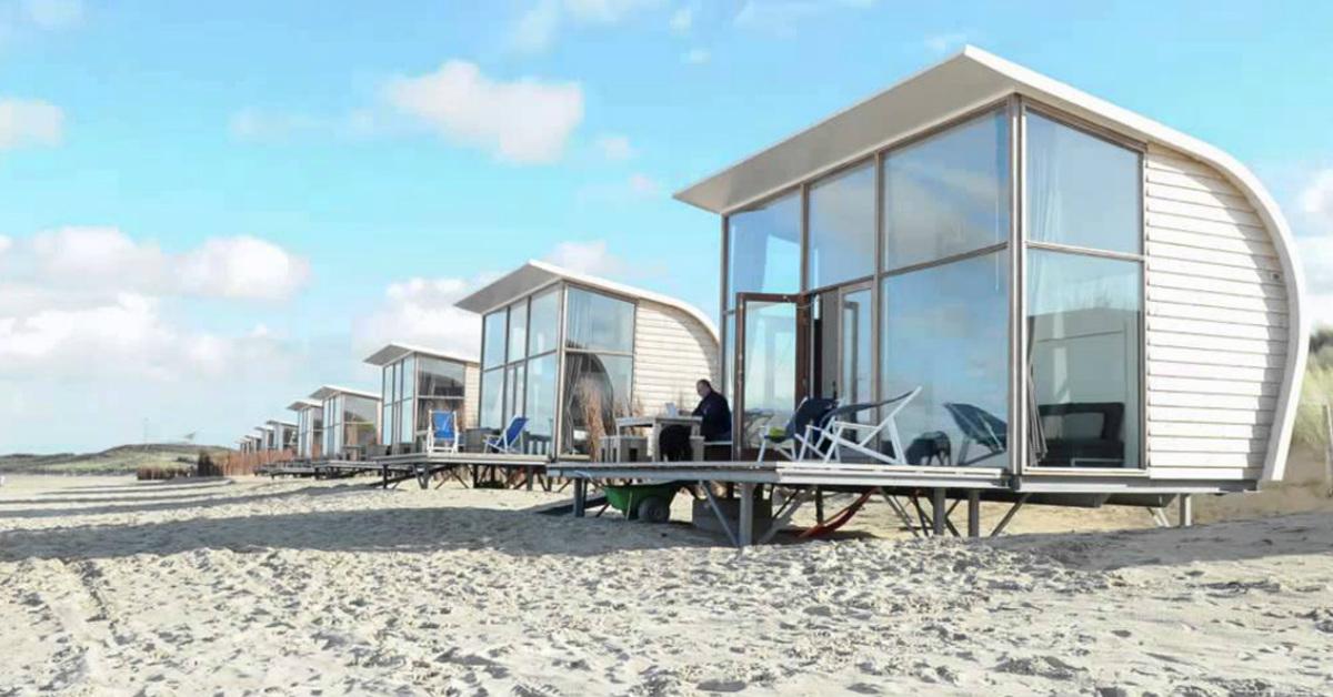Duurzaam strandhuisje in Groede