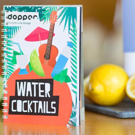Lekker en gezond: watercocktails van Dopper
