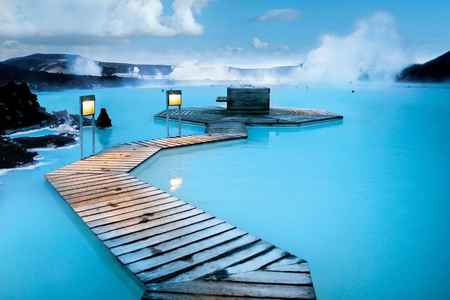De 5 mooiste natuurlijke zwembaden ter wereld - Blue Lagoon in IJsland