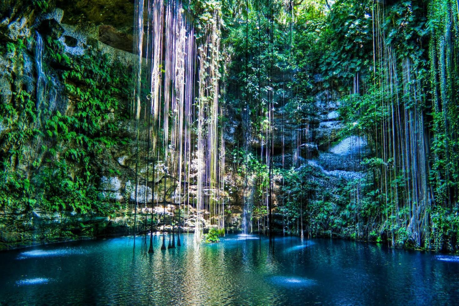 De 5 mooiste natuurlijke zwembaden ter wereld - Ik Kil in Mexico
