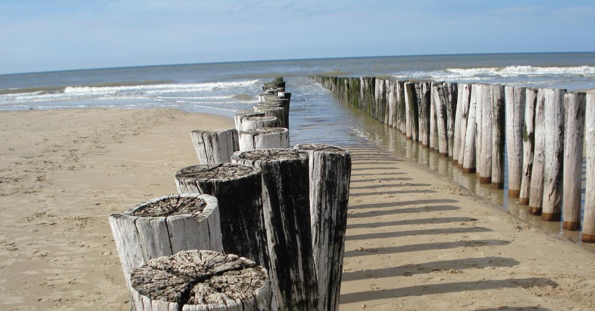 Oostkapelle, het schoonste strand van Nederland