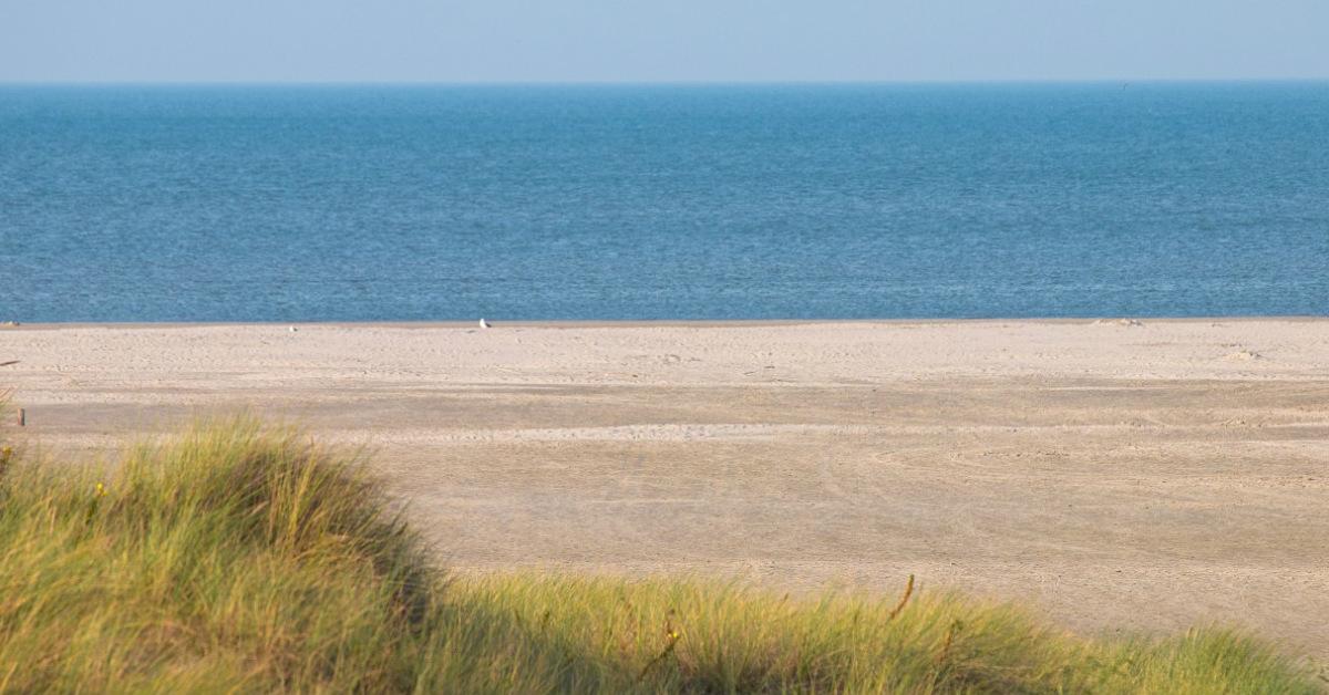 De brede stranden van Schiermonnikoog