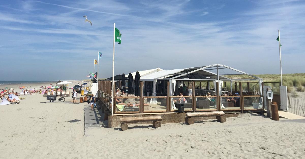 's-Gravenzande, dagje strand in Italiaanse sferen