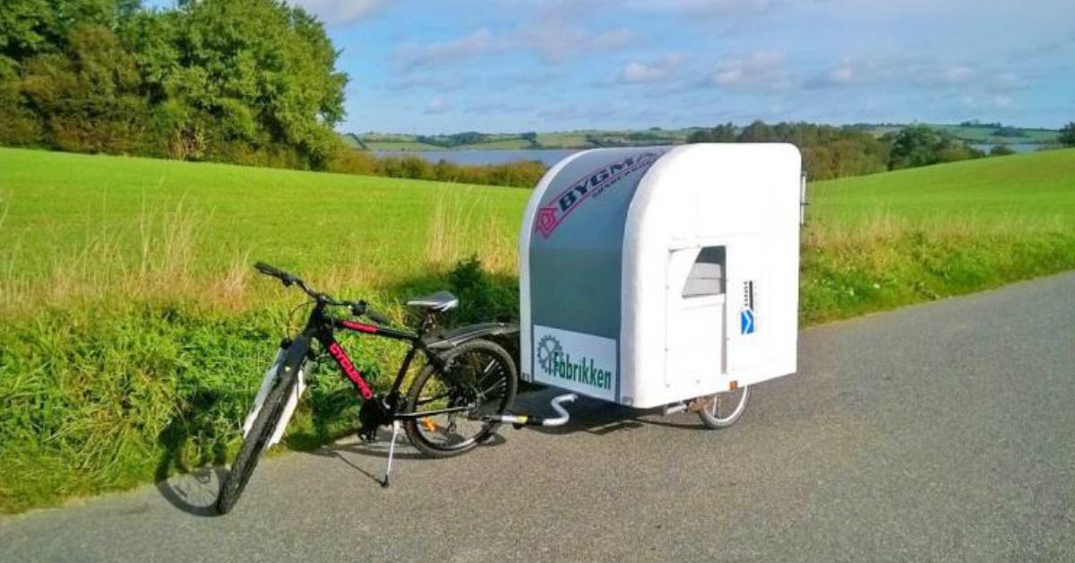 Deense fiets camper