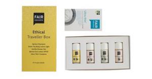 Travellerbox Fair Squared: natuurlijke producten voor op reis