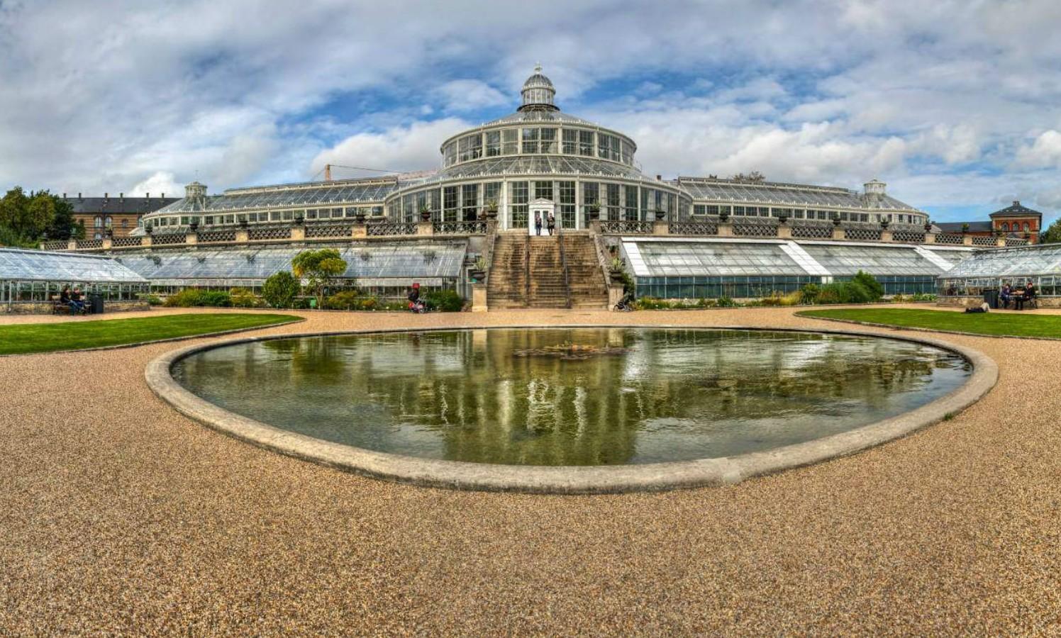De 10 mooiste greenhouses ter wereld - De botanische tuinen van Kopenhagen