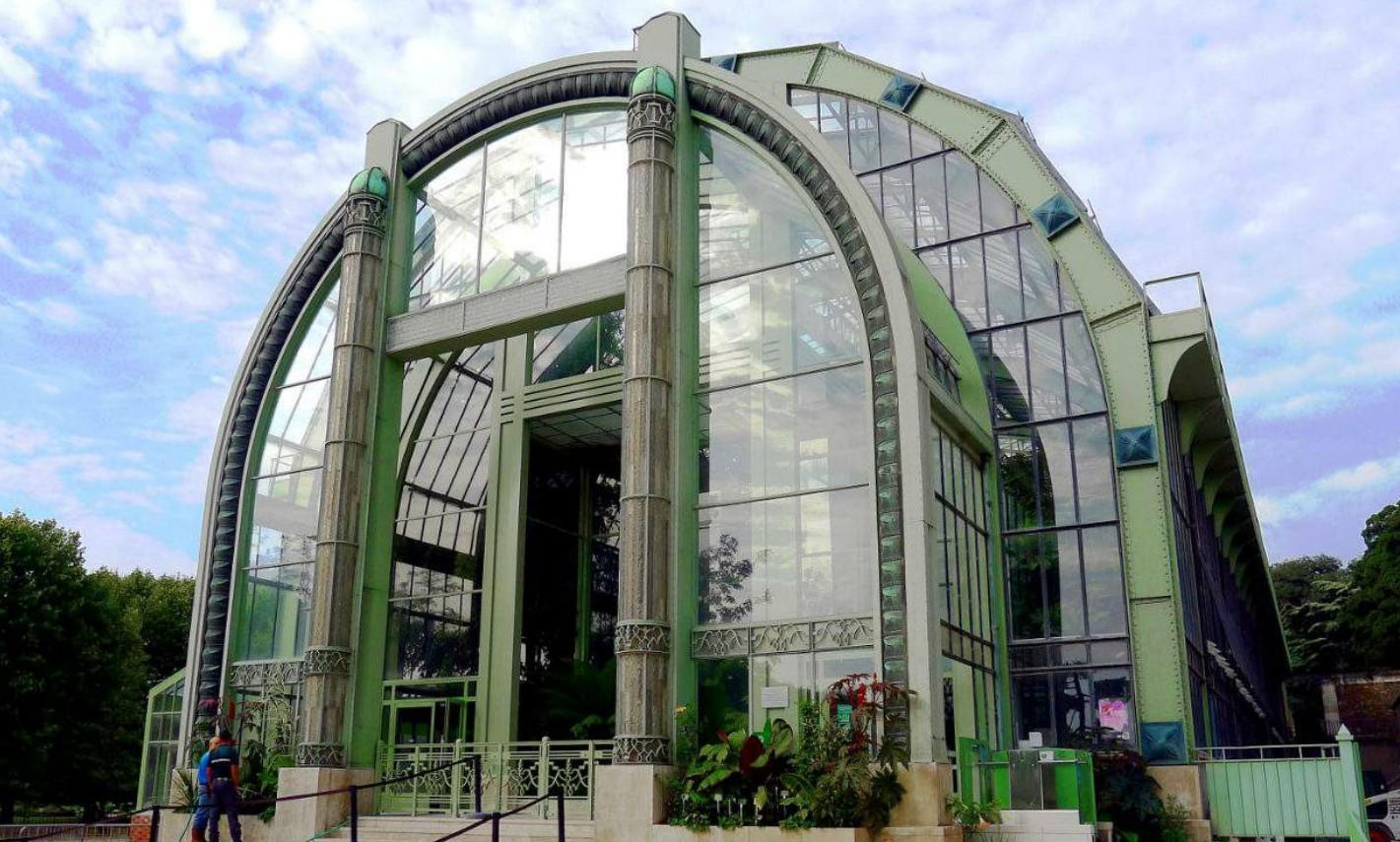 De 10 mooiste greenhouses ter wereld - Jardin des Planten in Parijs