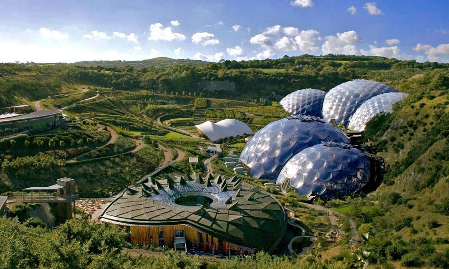 De 10 mooiste greenhouses ter wereld - The Eden Project